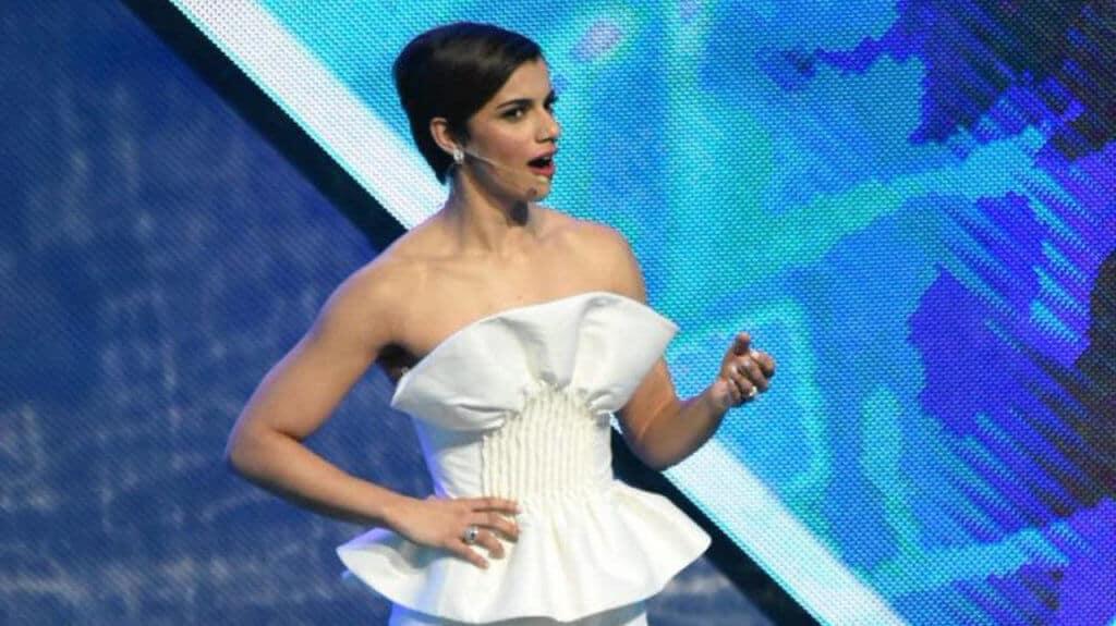Nashla Bogaert en los Premios Soberano