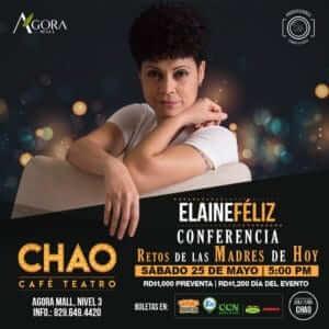 Elaine Féliz en Chao Teatro