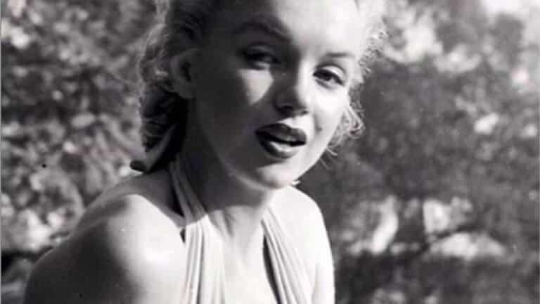 Marilyn Monroe tenía barriga